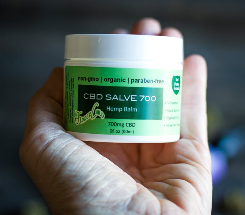 flower child cbd salve
