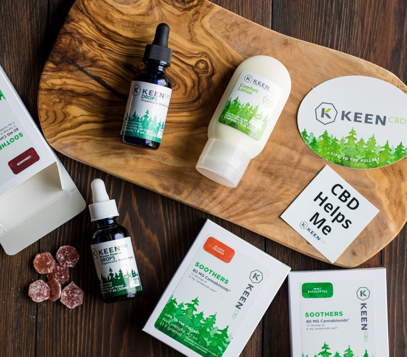 keen cbd products